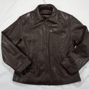 Metropolitan New York Mens Leather Jacket